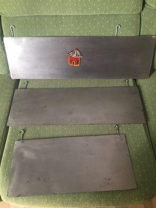 Placas para magnetos. 3€ cada uno. 15€ los 5.