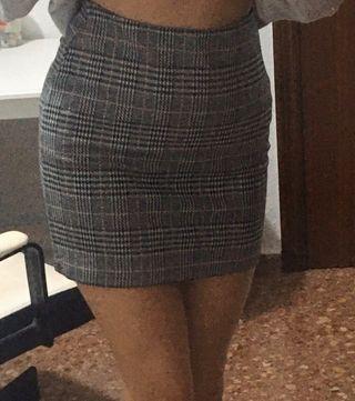 Falda elástica