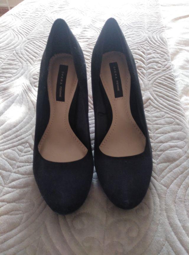 Zapatos de tacón alto con plataforma