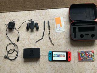 Nintendo switch + Accesorios + Juegos