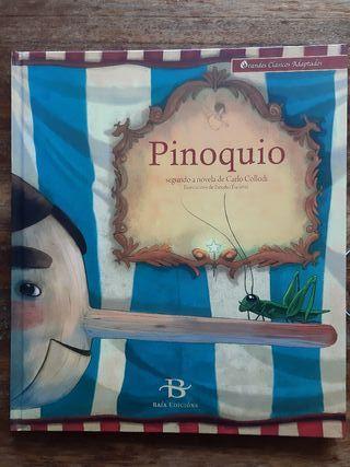 Album infantil ilustrado. Pinoquio