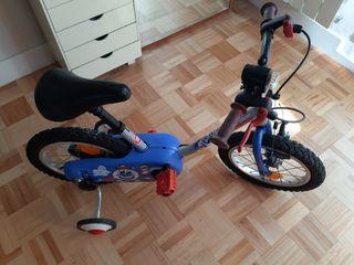 bicicleta 14'' niño decathlon 4 5 años