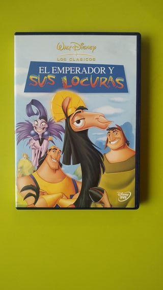 Película: El emperador y sus locuras.