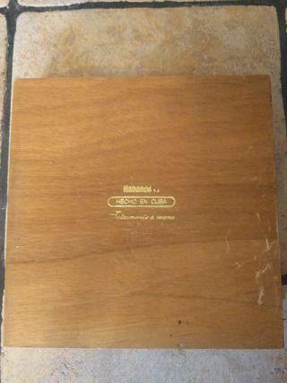 Caja puros cubanos