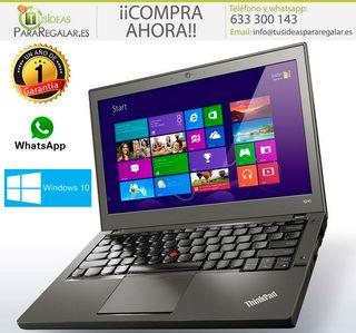 Portátil Lenovo ultrabook X260, i5 / 16Gb / 240Gb