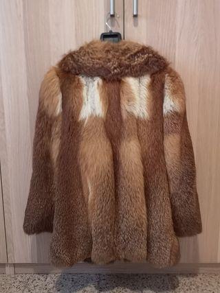Abrigo piel de zorro irlandés
