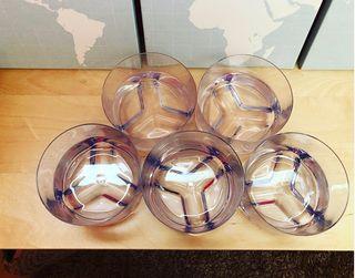 Pack 5 bowls