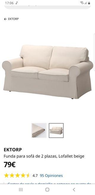 fundas sofá ikea de dos plazas