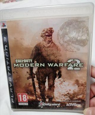 Juego PS3 Call of Duty Modern Warfare 2