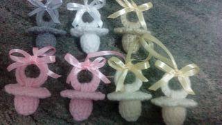 chupetes de lana