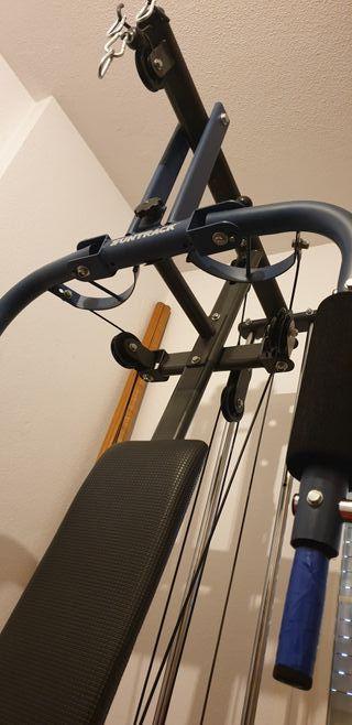 gimnasio multifuncion mancuernas pesas musculacion