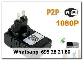 iwuu Videocamara ip wifi cargador enchufe
