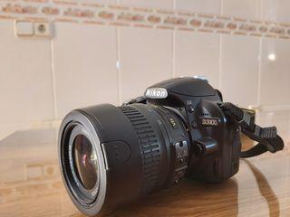 Camara Nikon d3100.