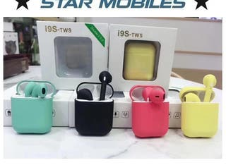 AURICULARES BLUETOOTH TWS I9S COLOR