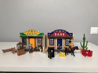 Maletín del Oeste Playmobil