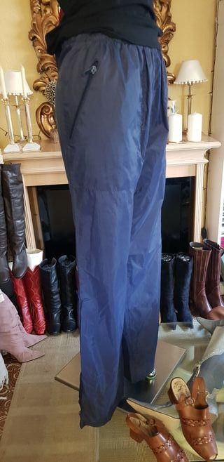 Pantalón impermeable talla grande ideal para moto