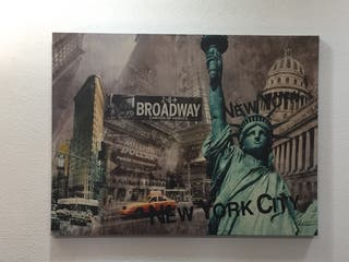 Cuadro Lienzo New York
