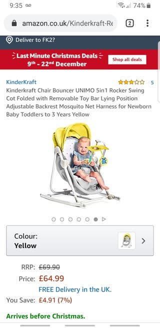 5 in 1 baby chair swing and crib