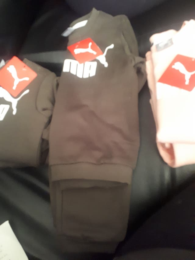 brand new puma tracksuits boy and girl