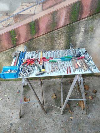 lote de herramientas mas de 200 piezas