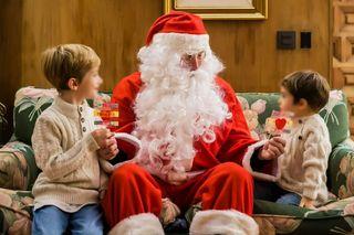 Visita de Papa Noel a domicilio