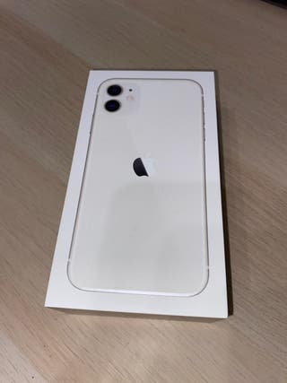 Caja Iphone 11 128Gb blanco