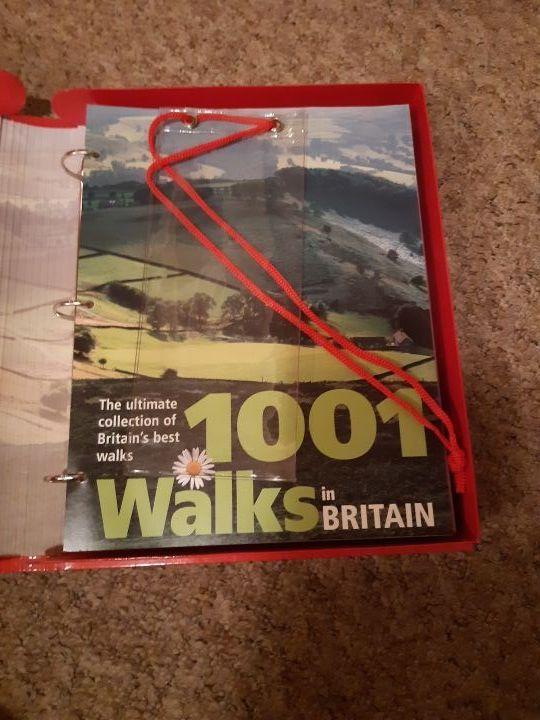 1001 walks in Britain guide