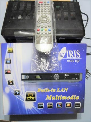 RECEPTOR SATELITE IRIS 9500 HD