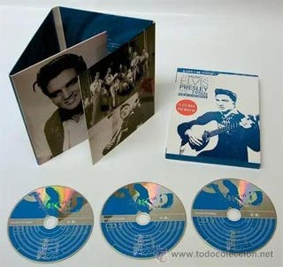 THE MUSIC OF ELVIS PRESLEY * 3 CD DIGIPACK Sellado