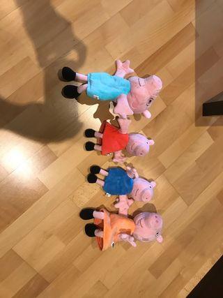 Marionetas Peppa Pig Familia