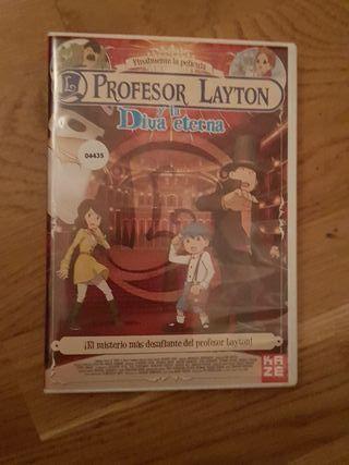 Peliculas dvd dibujos Profesor layton