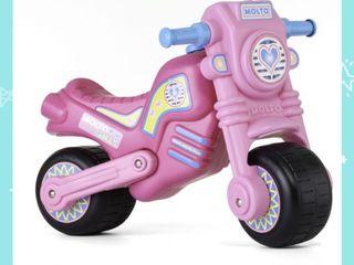 pack moto, bici sin pedales y patinete