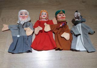 Marionetas cuento Caperucita Roja