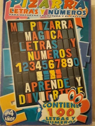 juego de números y letras
