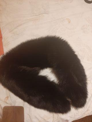 Cuello piel de zorro