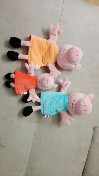 Marionetas Peppa pig