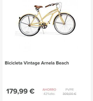 bicicleta vintage a estrenar