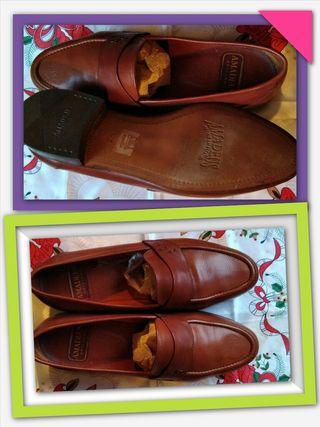 Zapatos Amadeus de piel t43 ESTRENAR