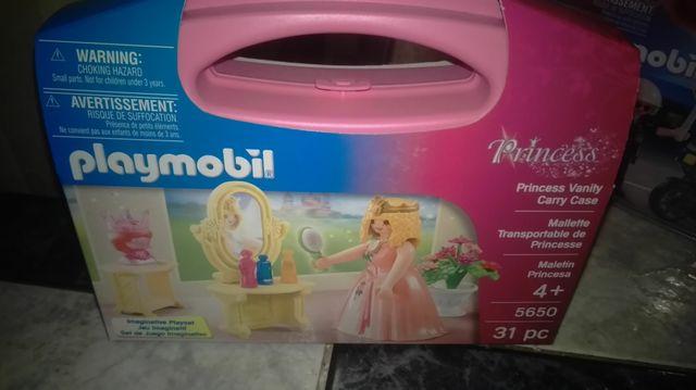 Princesa con tocador playmobil 5650