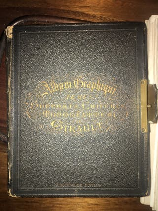 Libro/caja de caligrafía