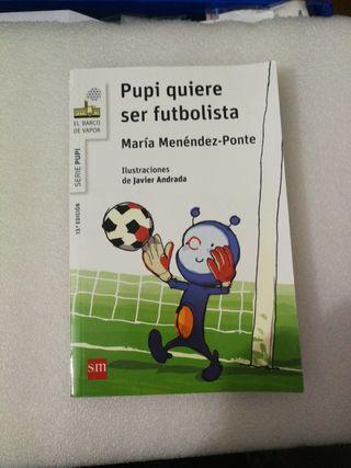 Pupi quiere ser futbolistas