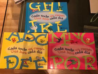 Set de tres libros para niños a partir de 3 años