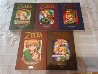 The Legend of Zelda comics Perfect Edition.