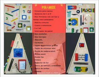 Busy Board - Piramide Interactiva
