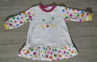 Vestido Agatha Ruiz de la Prada T:9-12m.Ropa bebé
