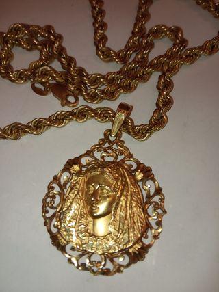 cordón y medalla