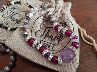 hand made bracelets for a special gift