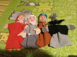 pack marionetas de caperucita roja