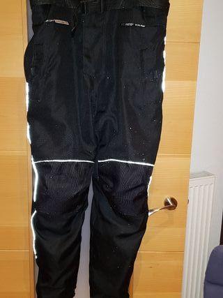 pantalon de moto con faja incorporada xl