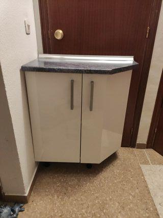 armario rinconera de cocina
